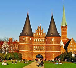 Holsten Tor in Lübeck