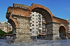 Arch of Galerius, Thessaloniki